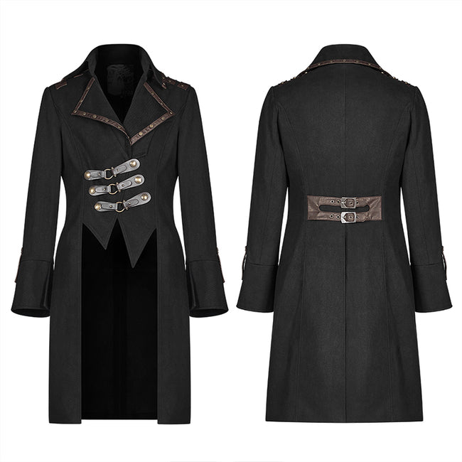 Steam Punk Long Coat