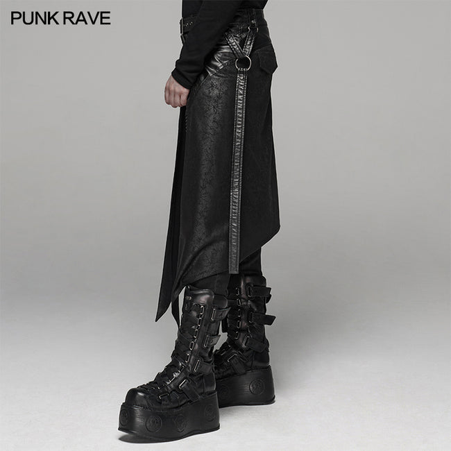 Punk Men's Half Skirt