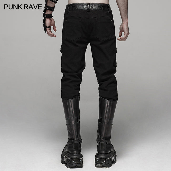 Punk Handsome Stretch Trousers