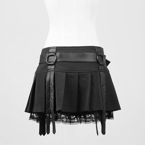 Elegant Sexy Short Tight Mini Gothic Skirt
