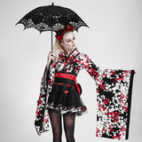 Fashion Lolita Style Black Umbrella Accessories
