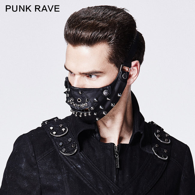 Newest Design Man Rivet Mask Accessories