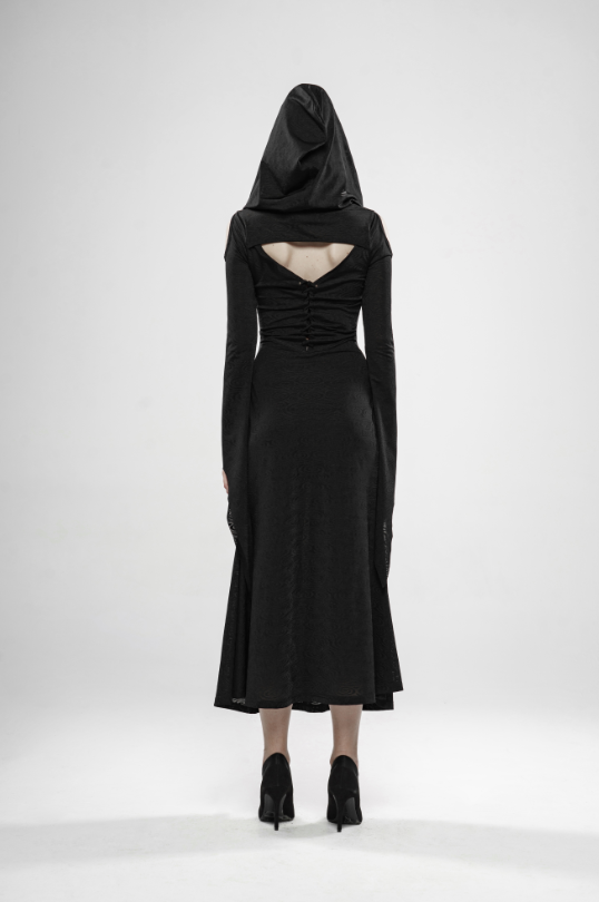 Wild Witch Gothic Dress with Hat