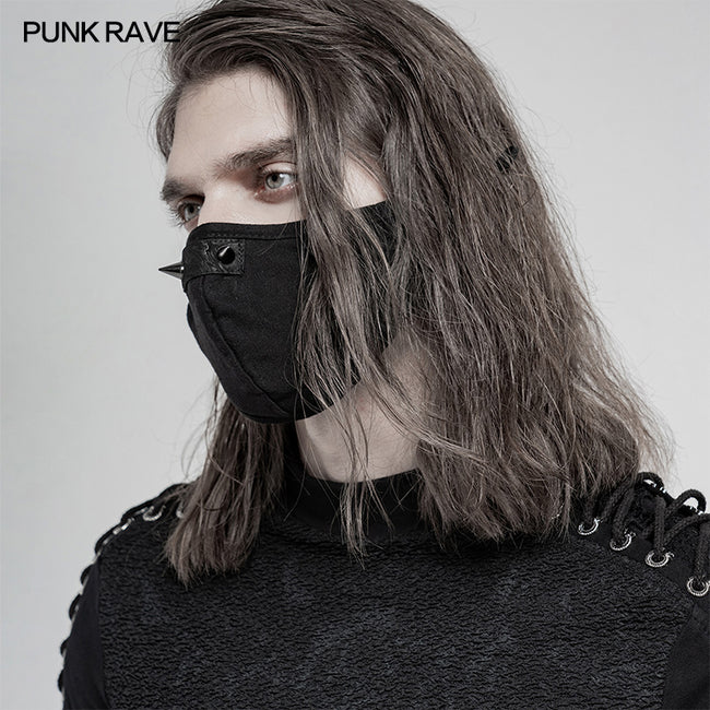 Daily punk imitation nosering mask