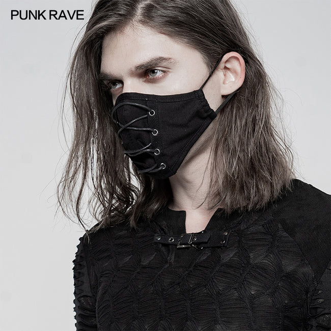Daily punk strapping mask