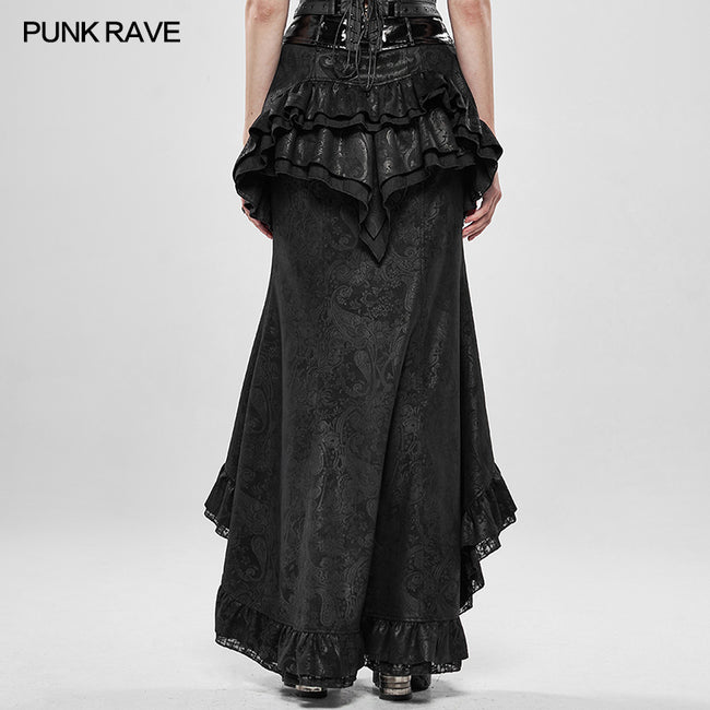 Steampunk Gorgeous Noble Fishtail Skirt