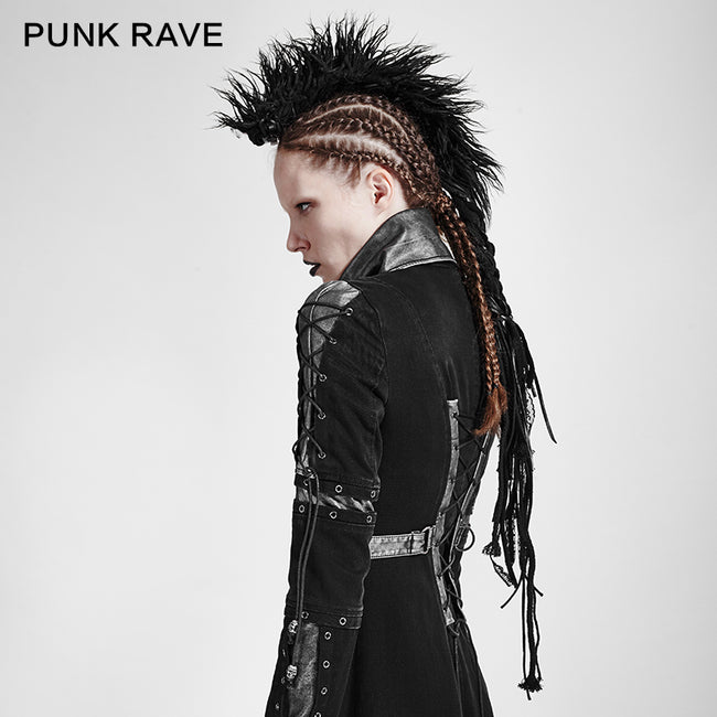 Personality Punk Rock Accessories Wool Hair Headwear