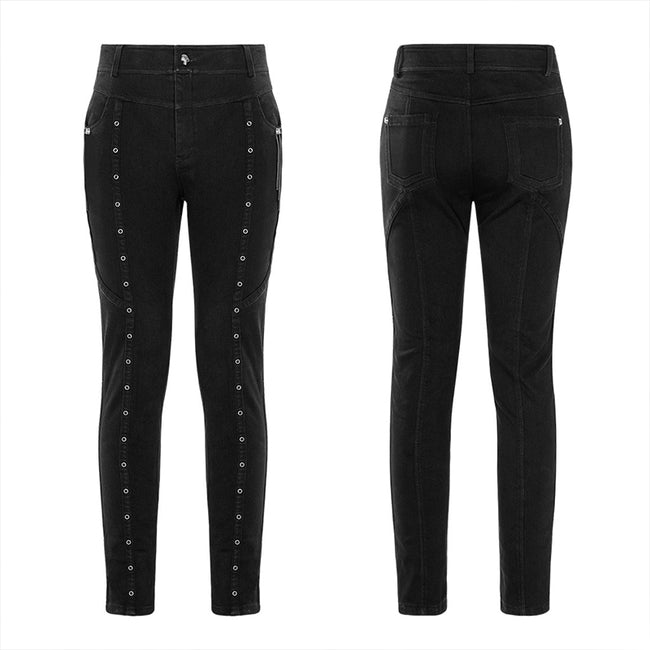 Thickened Punk Simple Trousers
