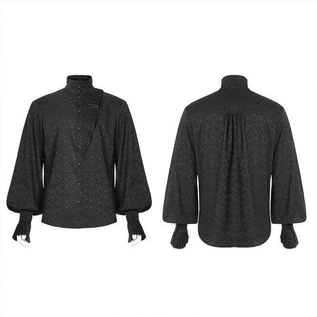 Gothic Daily Jacquard Long sleeve shirt