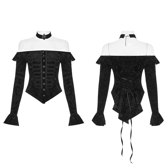 Victoria royal  palace Velvet shirts