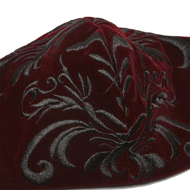 Exquisite Gothic Embroidered Mask