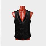 Latest Black Fashion Noble Punk Vest