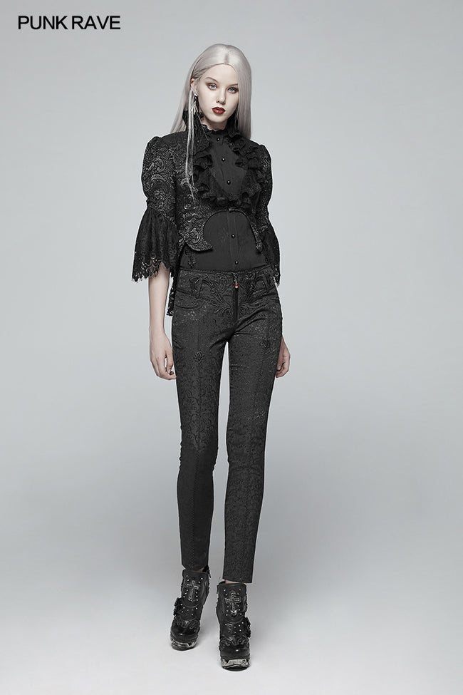 Gothic Jacquard Trousers