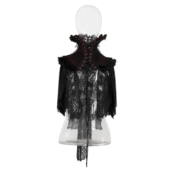 Top Quality Embroidery Lace Sexy Cape Gothic Accessories