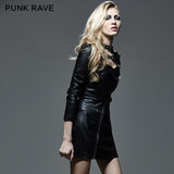 Classic Fashion Short Punk Jacket Studded Motorbikes