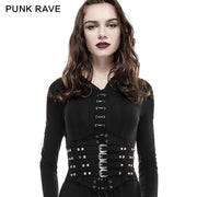Steampunk Vintage Retro Underbust Corset Waist Belt Sexy Leather Girdles For Women Accessories