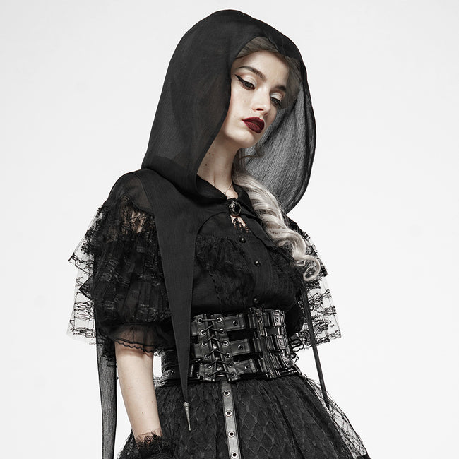Dark Magic Lace Perspective Cloak
