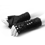 PUNK knitted gloves