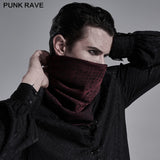 Men triangular scarf veil