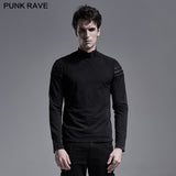 Simple everyday Gothic long sleeve T-shirt