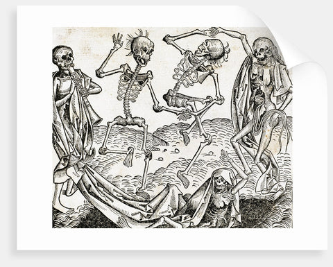 The Dance of Death (1493) by Michael Wolgemut, from the Liber chronicarum