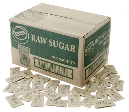 ISM Raw Sugar Sachets 2000's