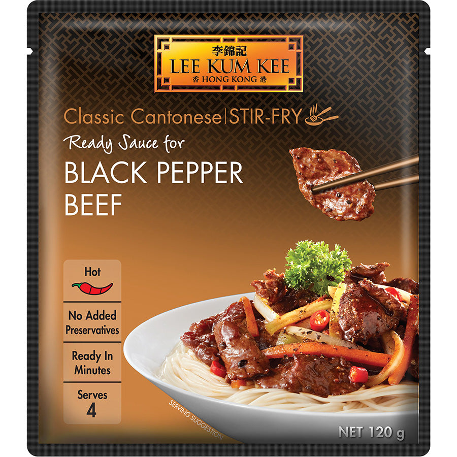 Lee Kum Kee Ready Sauce for Black Pepper Beef 120 g