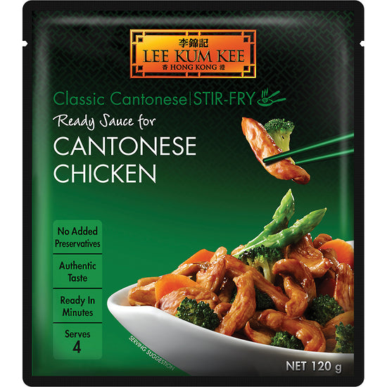 Lee Kum Kee Ready Sauce for Cantonese Stir-Fry Chicken 120 g