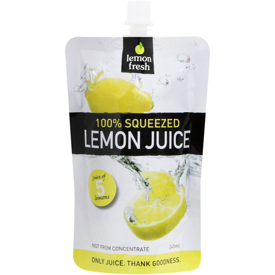 Lemon Fresh 100% Squeezed Lemon Juice 245 ml