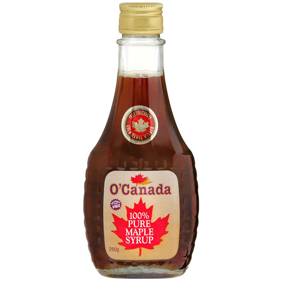 O'Canada Pure Maple Syrup 250 g