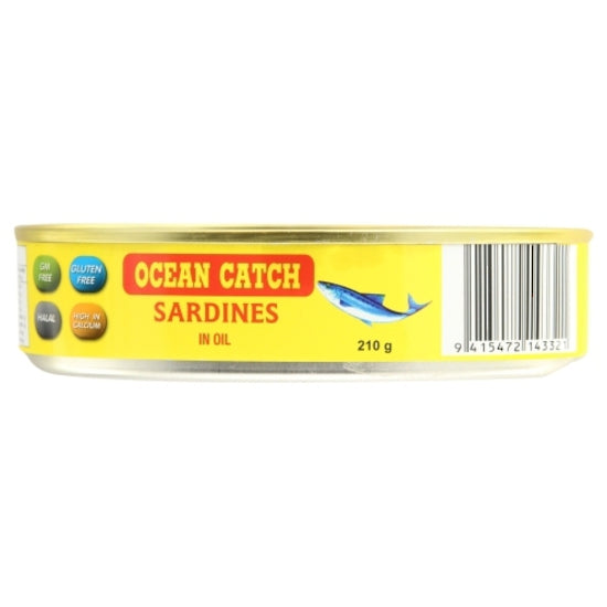 Ocean Catch Sardines in Oil 210 g