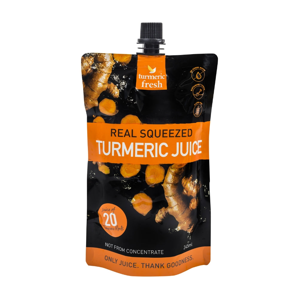 Turmeric Fresh Real Squeezed Turmeric Juice 245 ml