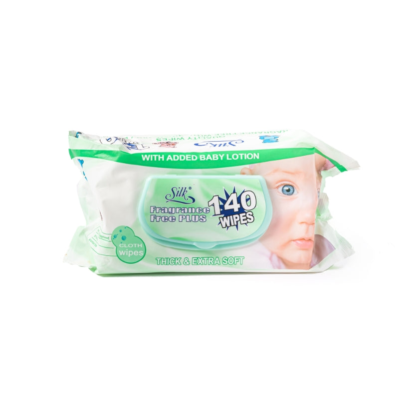 Fragrance Free Baby Wipes  140's