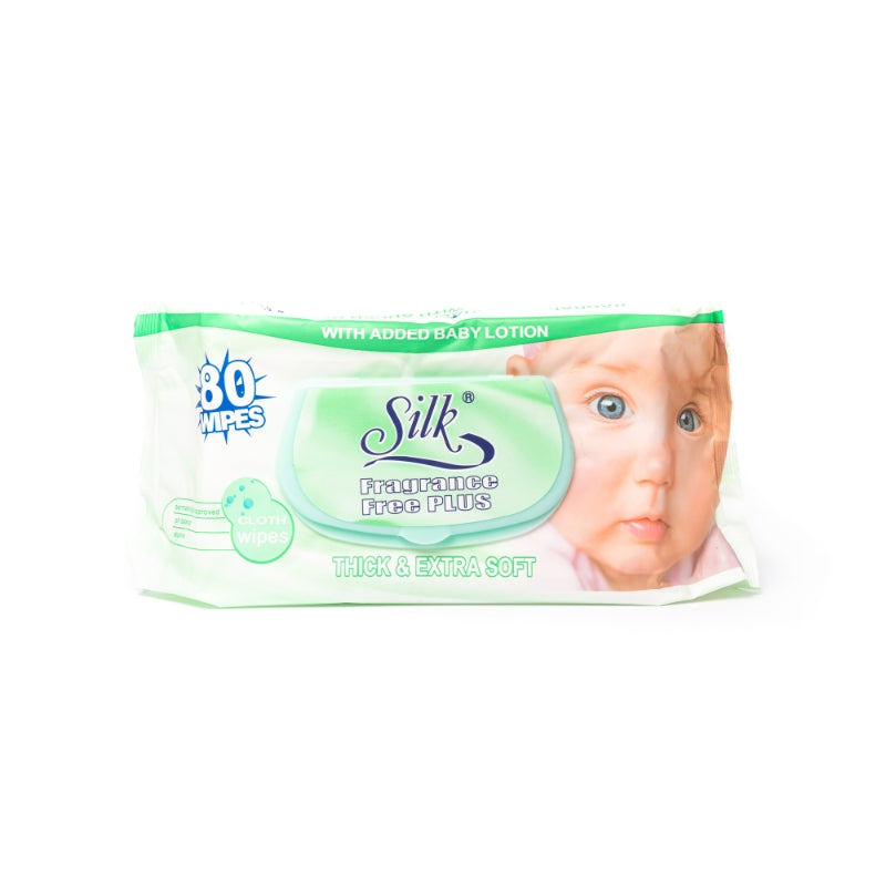 Fragrance Free Baby Wipes 80's