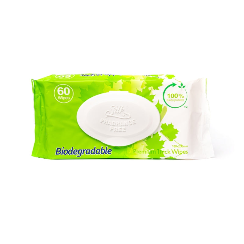 Biodegradable Wipes 60's