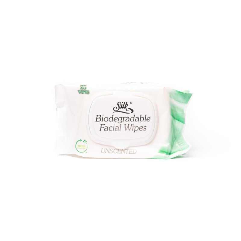 Biodegradable Facial Wipes 25's
