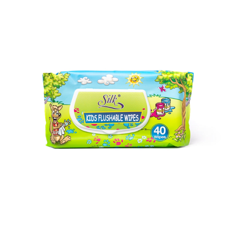 Flushable Toddler Wipes 40's