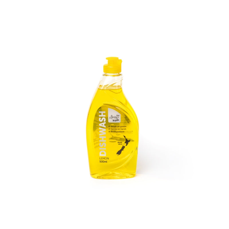 Spring Fresh Dishwashing Detergent Lemon 500ml