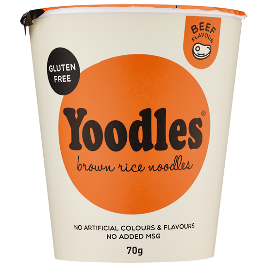 Yoodles Brown Rice Noodles - Beef