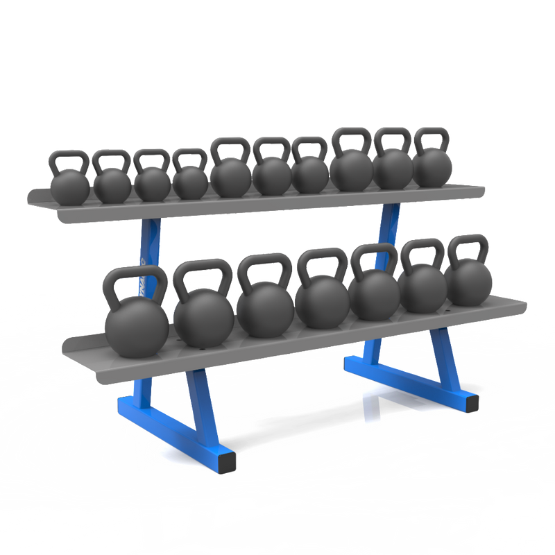 Dynamic Accell 2 Tier Kettlebell Rack