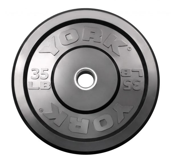 York Rubber Training Bumper Plate - LBS