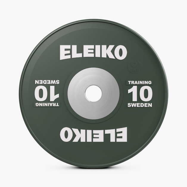 Eleiko IWF Weightlifting Training Plate 10kg