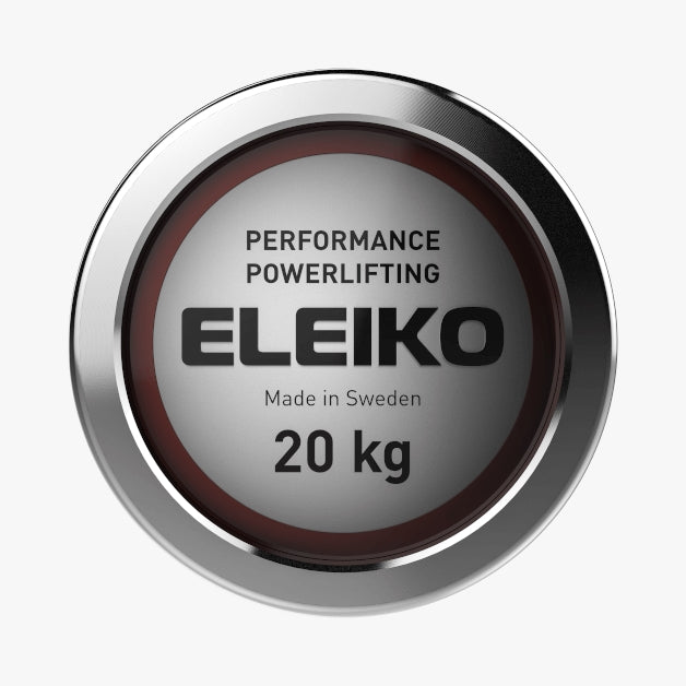 Eleiko Performance Powerlifting Bar 20 kg