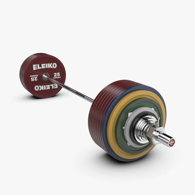 Eleiko IPF Powerlifting Competition Set 435 kg Coloured