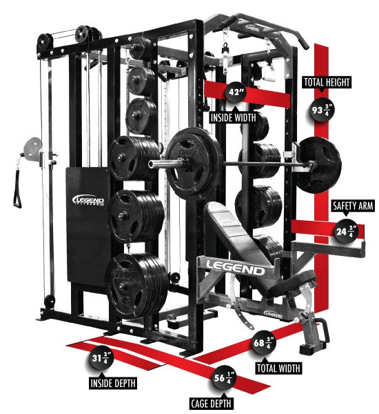 Legend Functional Trainer Fusion Half Cage