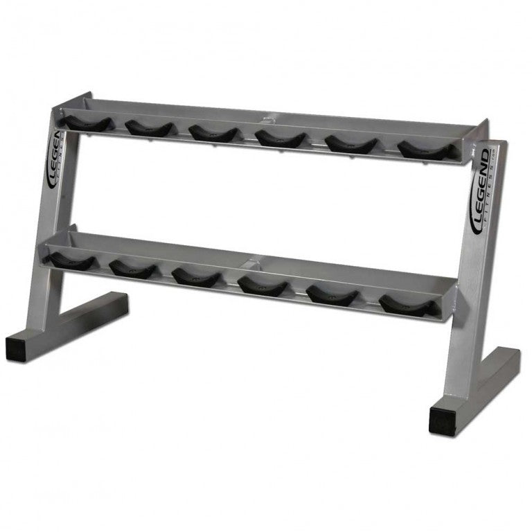Legend Ten Pair Pro Style Dumbbell Rack