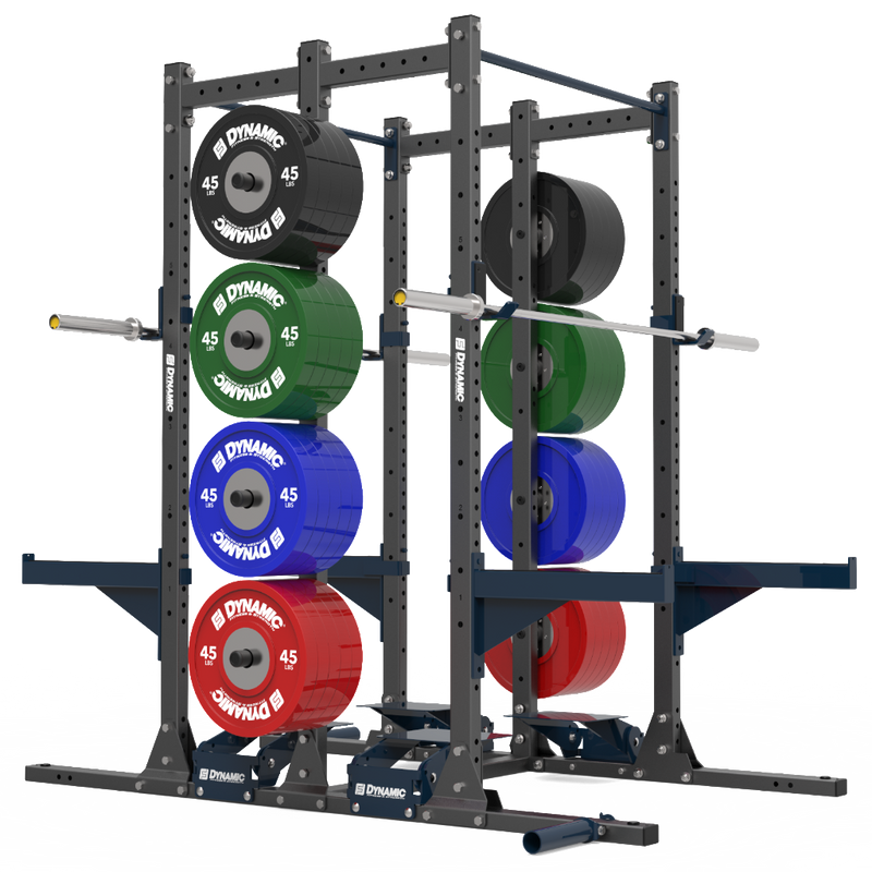 Dynamic Titan G2 Double Half Single Post Rack
