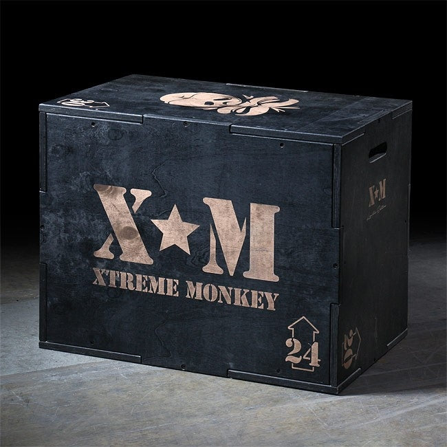 Xtreme Monkey 3-in-1 Wood Plyometrics Box