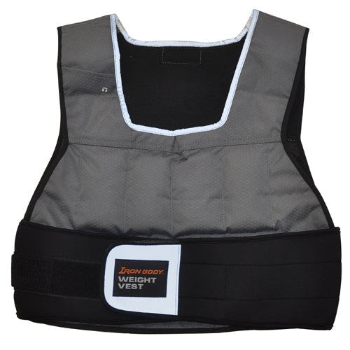 Iron Body Flex Fit Weight Vest - 20lb