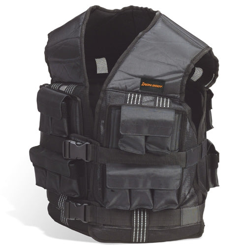 Iron Body 40lb Weighted Training Vest